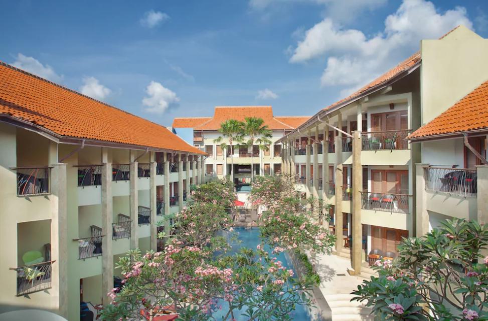 All Seasons hotel denpasar bali outside