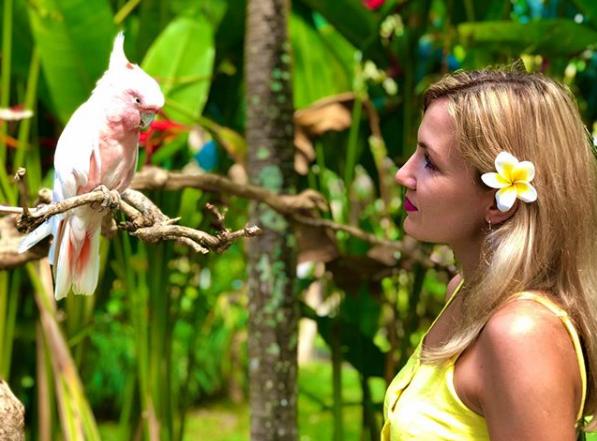 Bali Bird Park woman