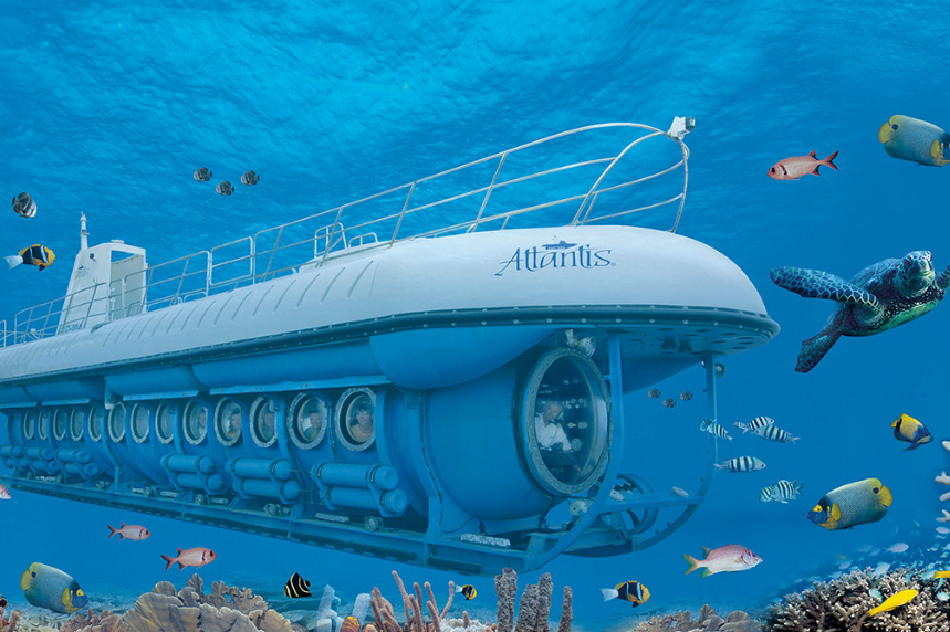 Bali Submarine Odyssey on sea