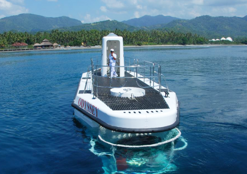 Bali Submarine Odyssey on top
