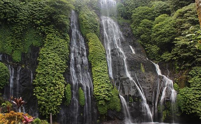Banyumala waterfall bali buleleng