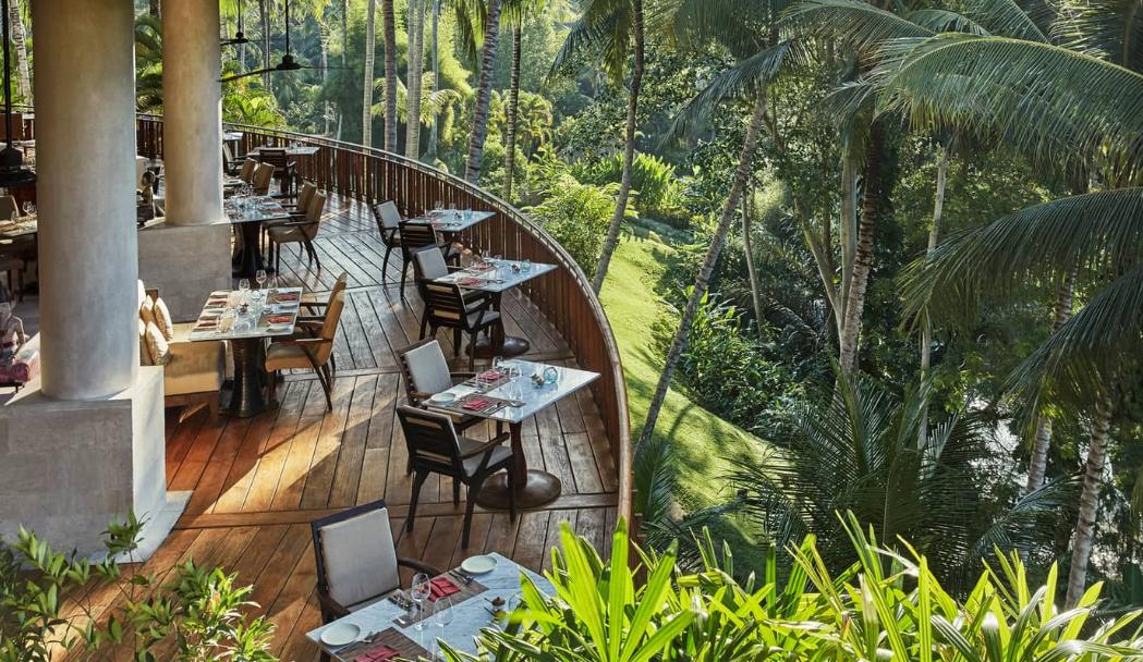 Four Seasons Resort Sayan Ubud Bali resto