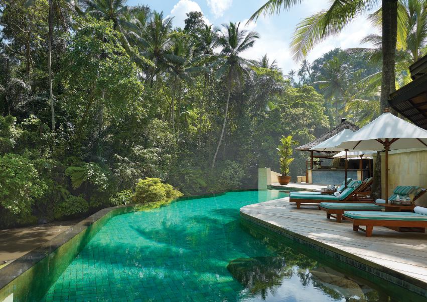 Four Seasons Resort Sayan Ubud Bali swiming pool