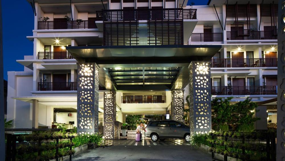 Fron office Sun Island Hotel Kuta Bali