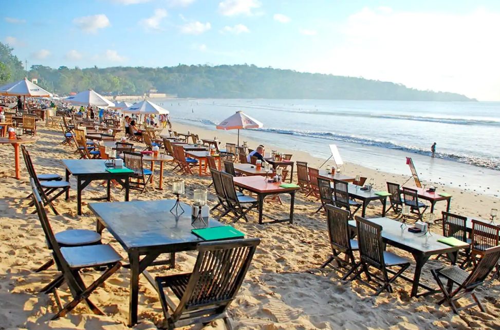 Jimbaran beach bali resto
