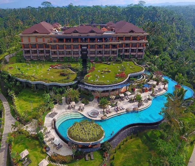 Padma Resort ubud Bali view