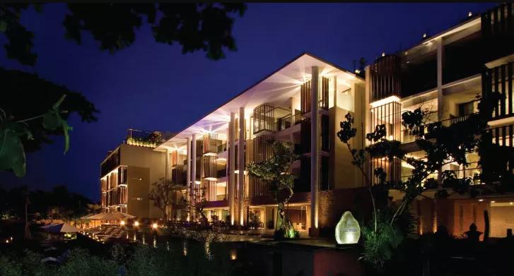 Resort Anantara Seminyak night
