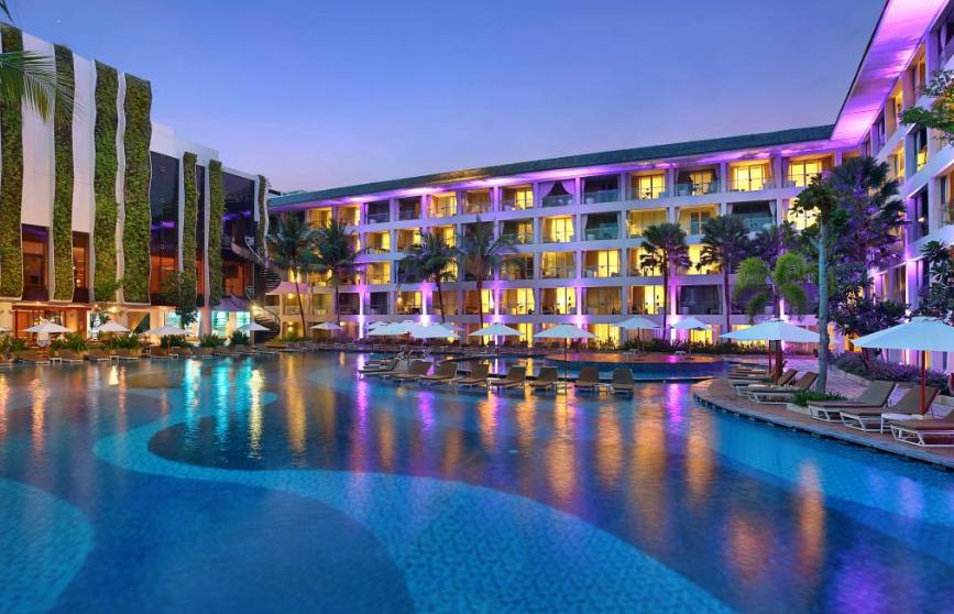 The Stones Legian Bali Hotel swimming pool