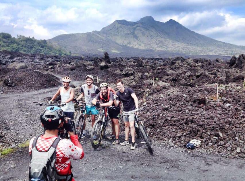 Volcano Mountain Bike Tour Bali 2