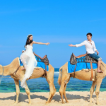 camel in Bali prewedding