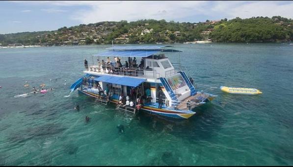 location Seawalker Tanjung Benoa Bali