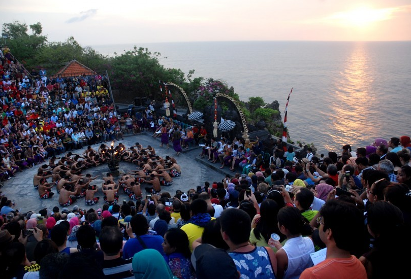 sunset Dance Kecak Uluwatu Bali
