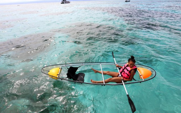 Bali Marine walk grils kano
