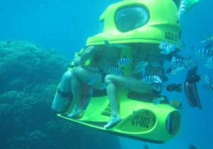 Enjoy the underwater beauty of the Bali Submarine Odyssey
