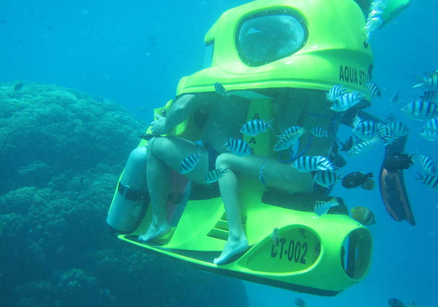 Bali underwater scooter two person