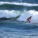 Balian Beach Bali surfing