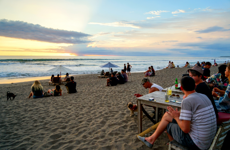 Berawa Canggu sunset