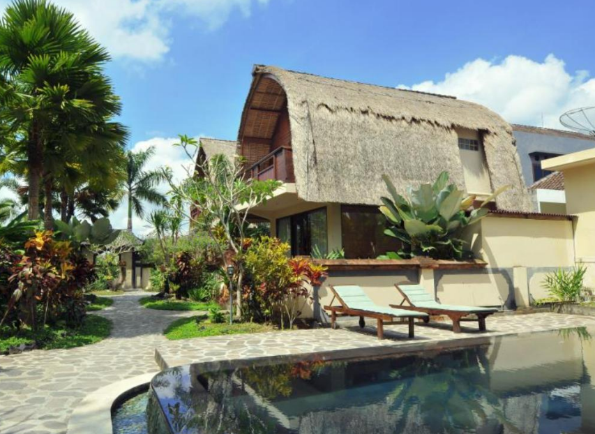 Hotel Beji Ubud Resort building