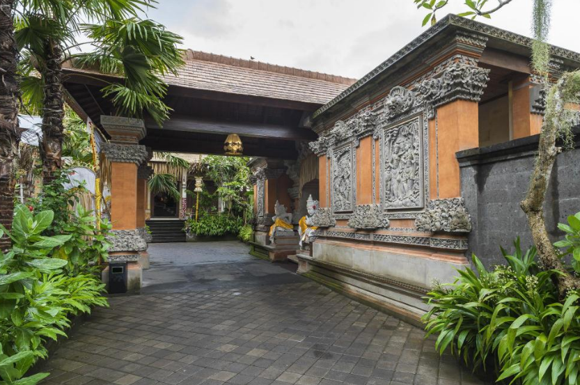 Hotel Tjampuhan and Spa gate