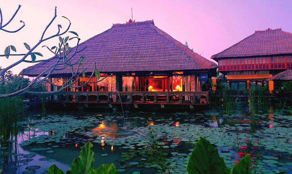 Hotel Tugu Bali building
