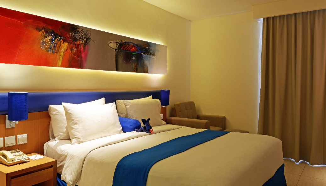 Hotel Zia Bali Seminyak bathroom king