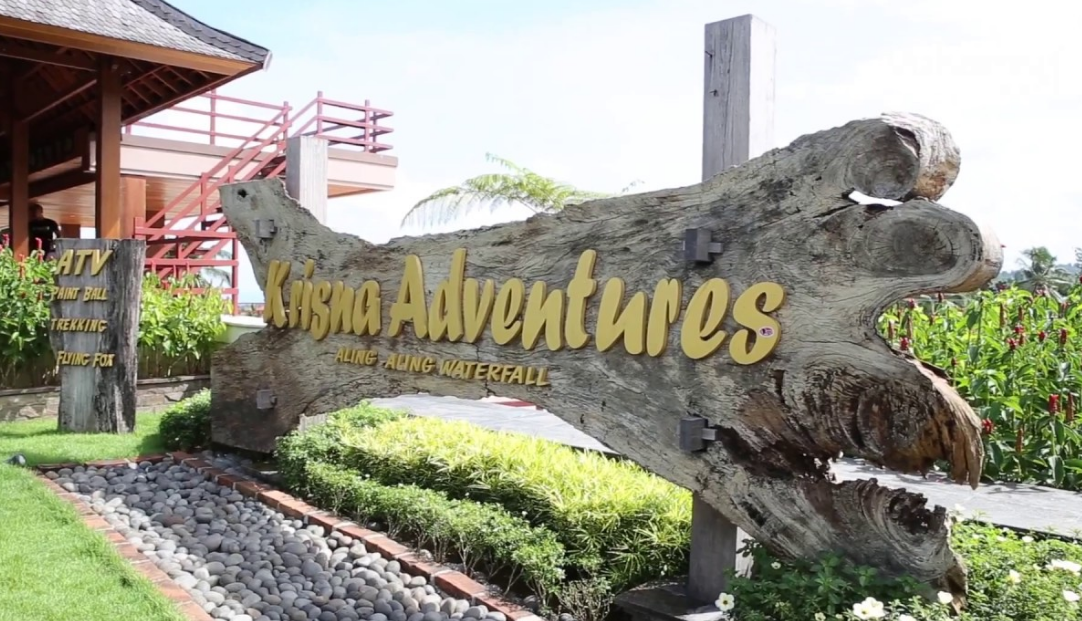 Krisna Adventure Buleleng Bali gate