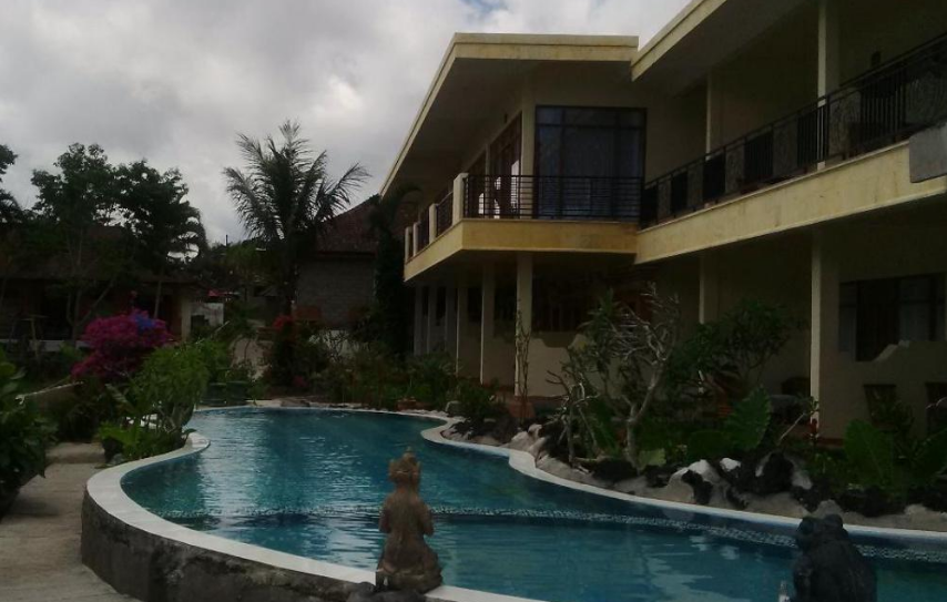 Lakeside Cottages Kintamani swimming pool