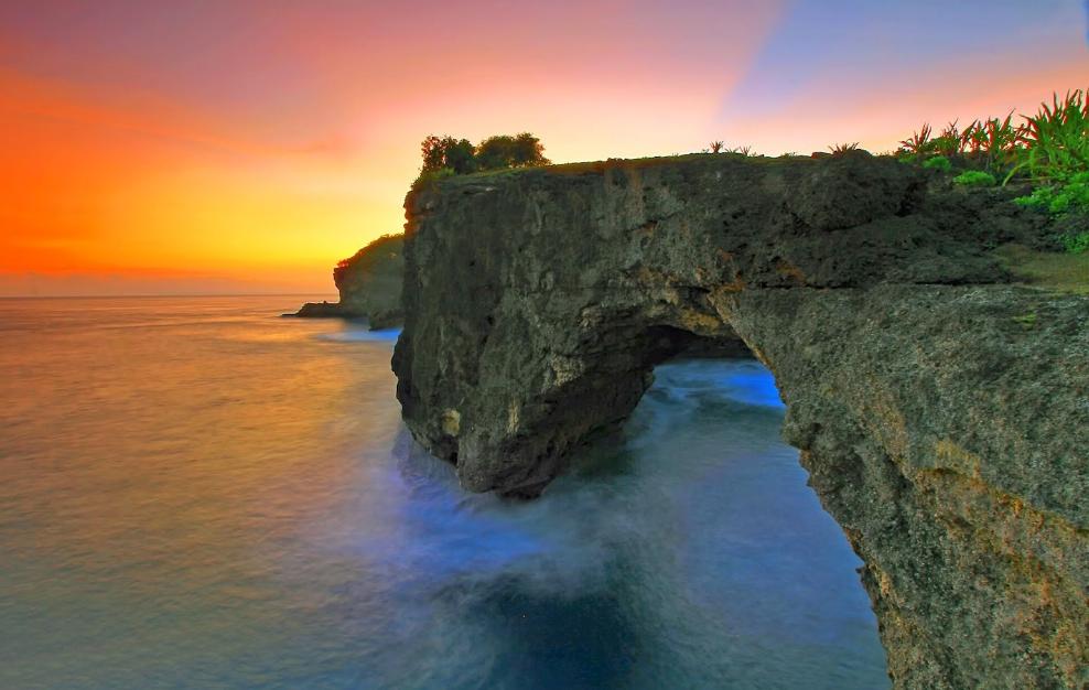 Pasih Uug Nusa Penida sunset
