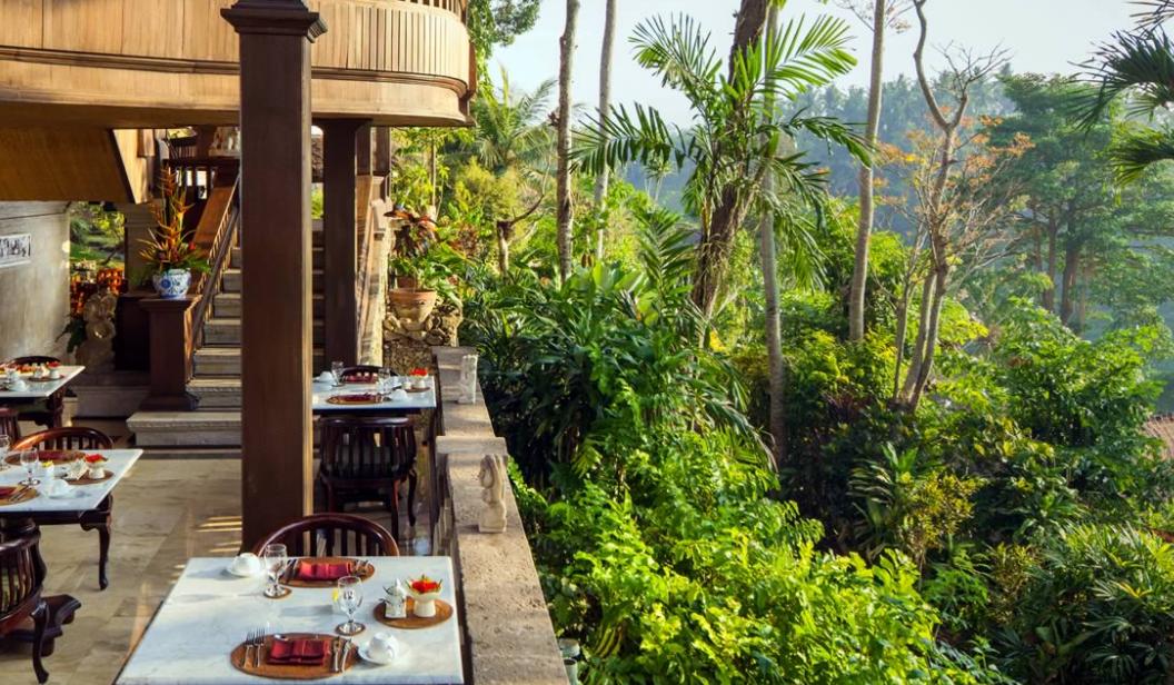 Pita Maha Hotel Ubud bali resto