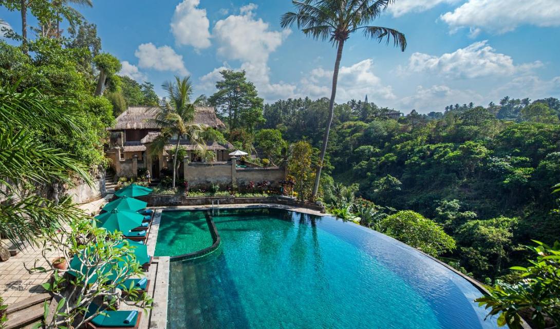 Pita Maha Hotel Ubud bali swimming pool
