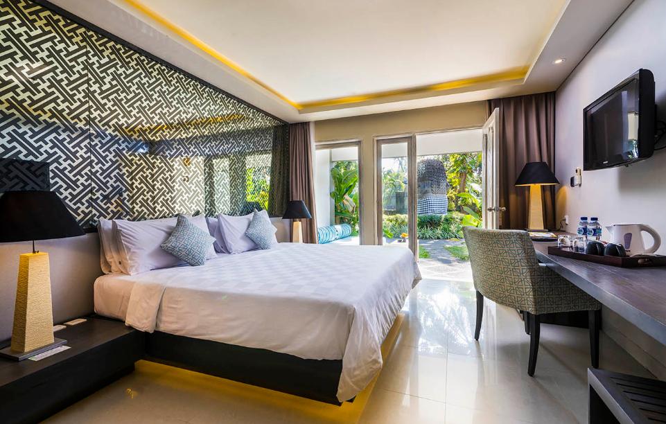 Segara Village Hotel room