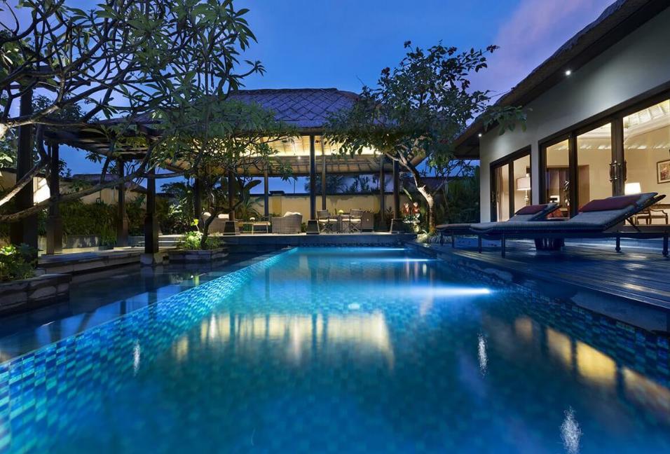The Trans Resort Bali swimming pool