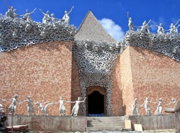 Village Celuk Gianyar Bali gate
