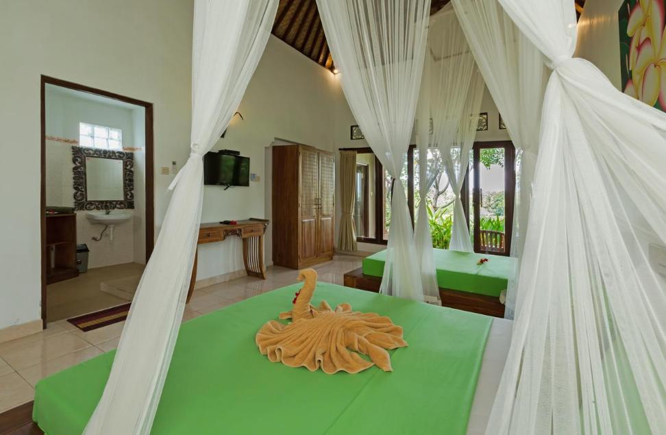 cahaya Ubud Villa room