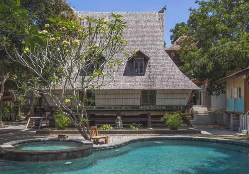 hotel Jungle room Canggu swimming pool