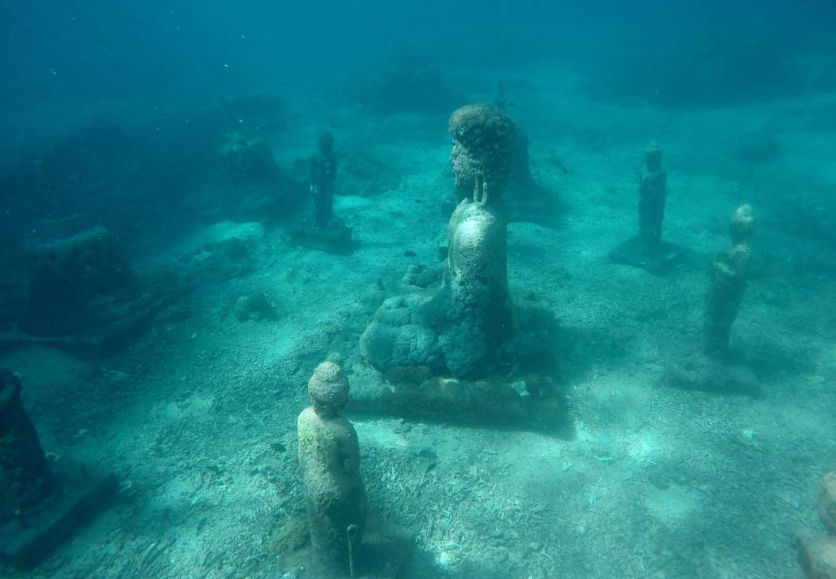 underwater temple of Pemuteran Bali 2