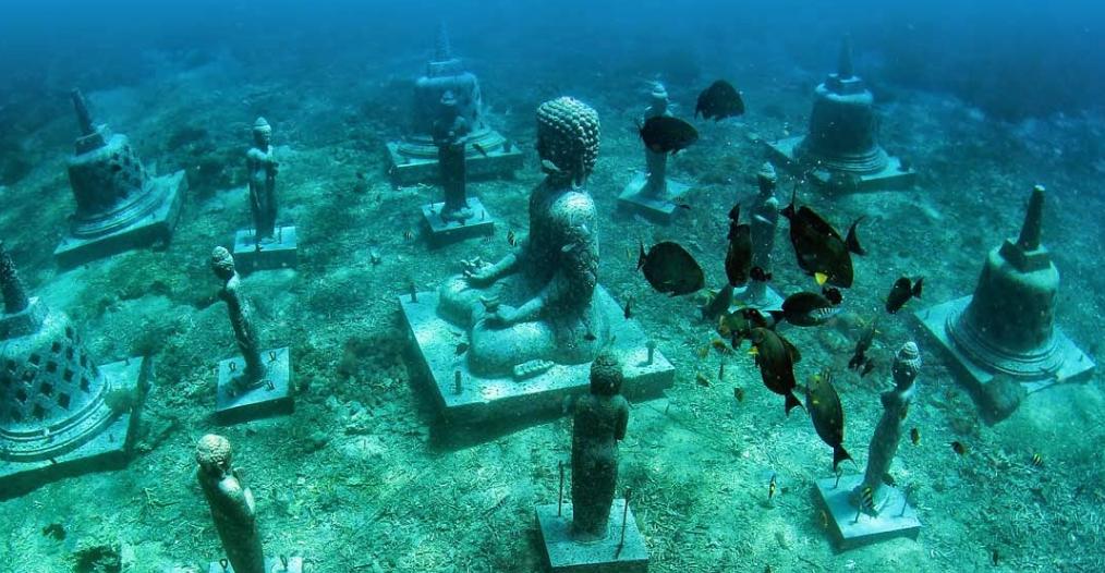 underwater temple of Pemuteran Bali 3