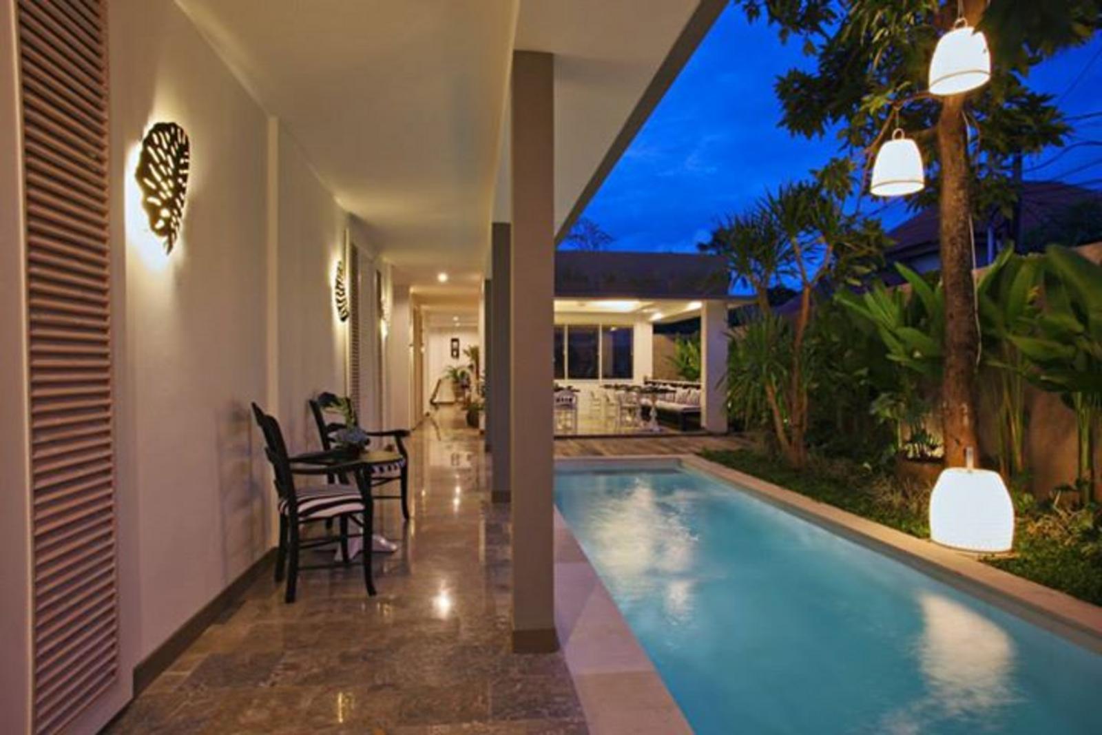 Hotel Summerhome Umasari seminyak bali mini pool 2