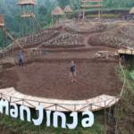 Jinja Karangasem Park Bali view