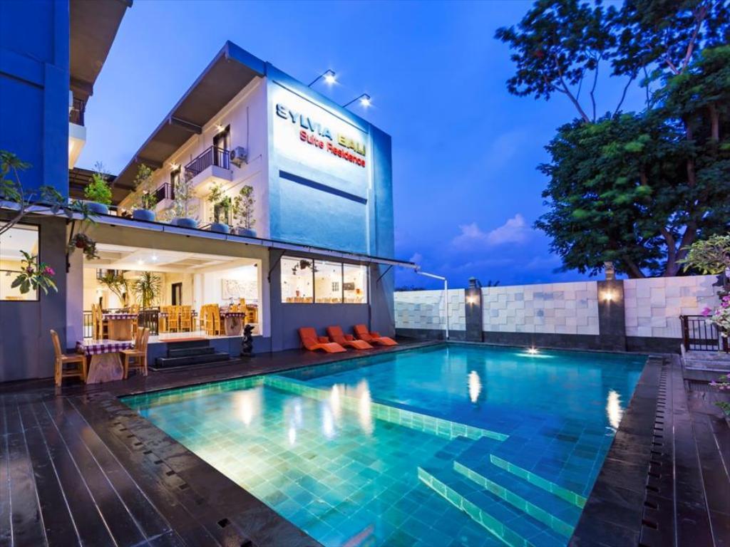 Sylvia Bali Suite Residence hotel three star in bali denpasar
