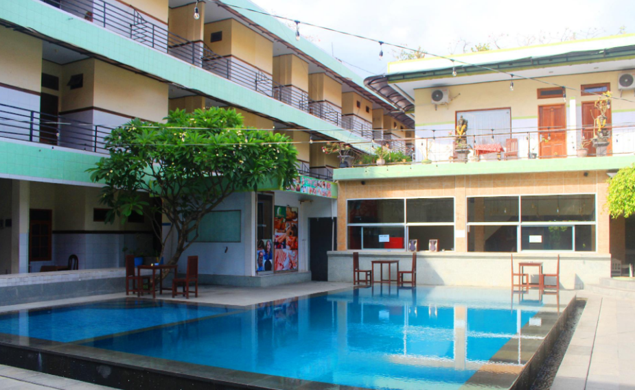 sayang maha mertha hotel legian swimming pool
