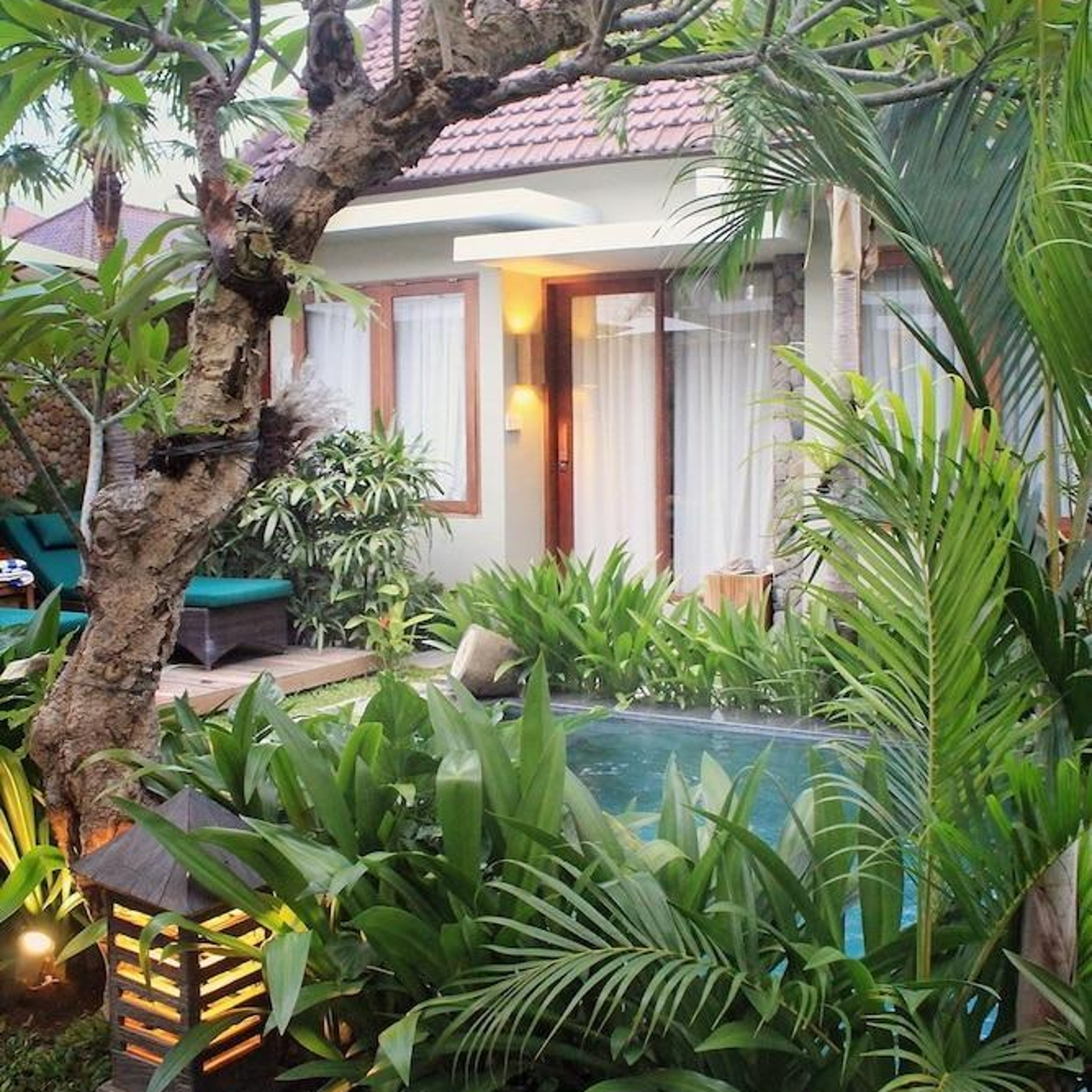 uma karan hotel seminyak bali swimming pool 2