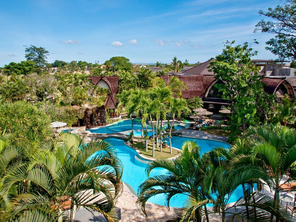 villa lumbung hotel seminyak bali swimming pool 5