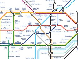 Black History Month: London Underground map reimagined to honour the Black people who shaped Britain