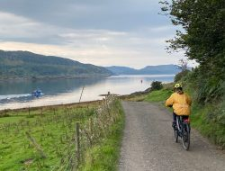 On the right track: Scotland's new bike-friendly trains are opening up Argyll to cyclists